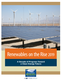 Renewables on the Rise 2019   Environment Minnesota Research